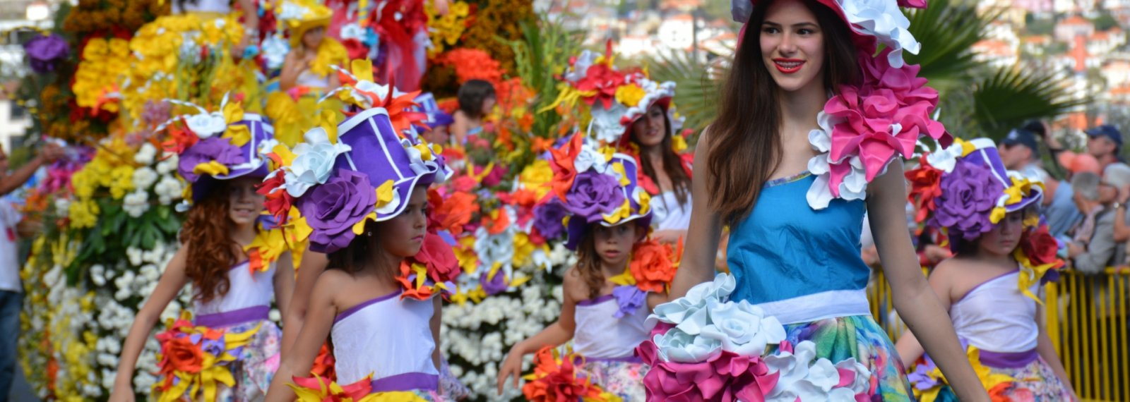 Festa da Flor da Madeira - Saída de Lisboa